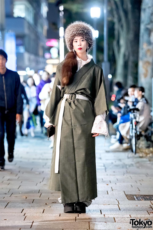 Gunakan Kimono Sebagai Fashion Musim Dingin