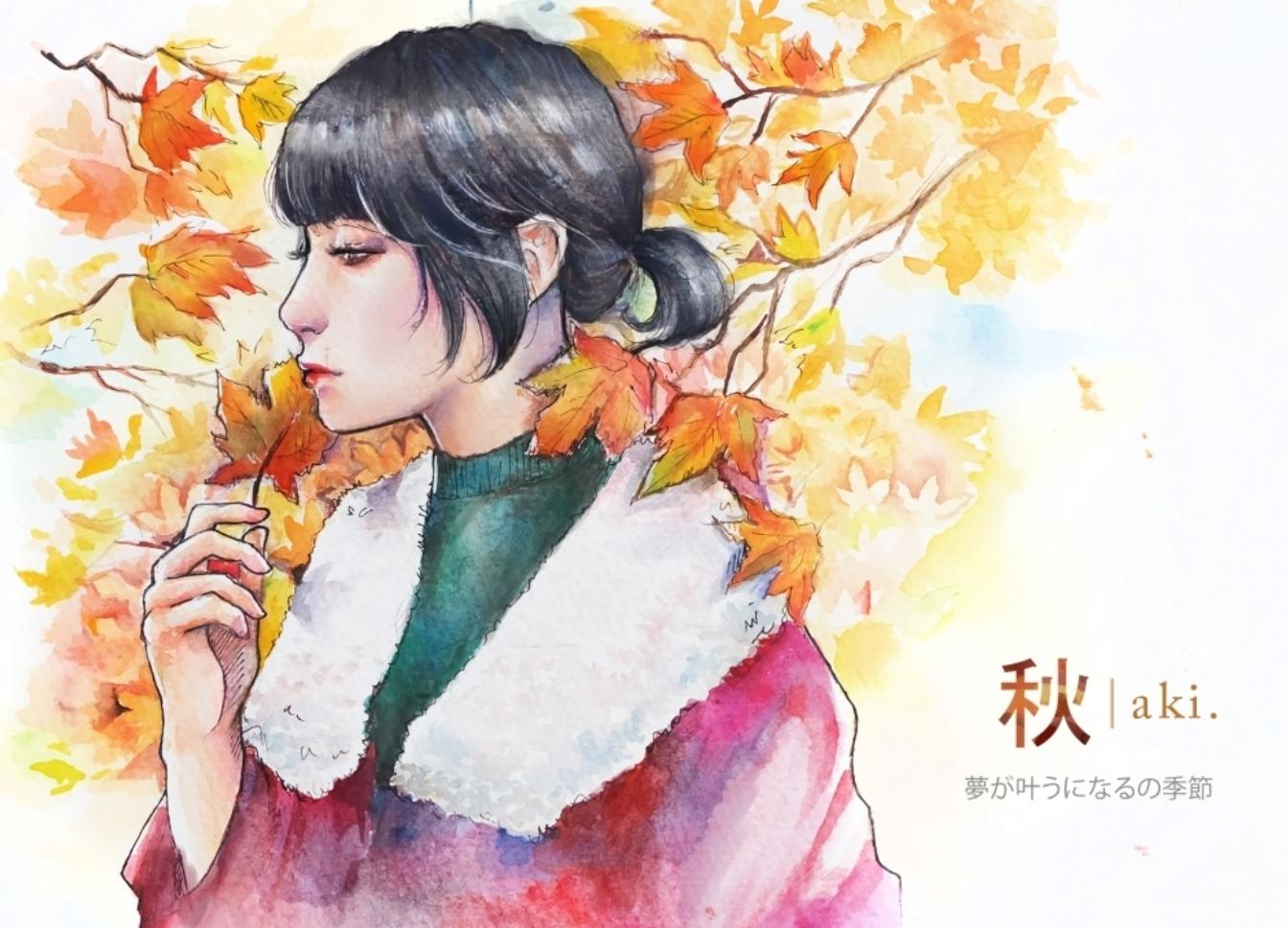 Pesona Musim Jepang Yang Dijadikan Lukisan Indah Oleh Seniman Indonesia