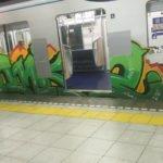 Aksi Vandalisme Terjadi Pada Kereta Bawah Tanah Tokyo