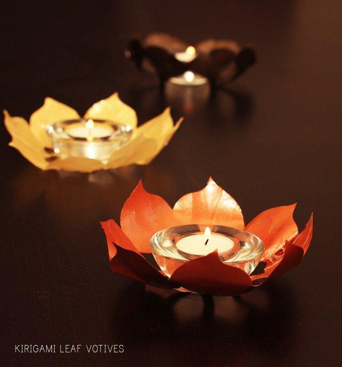Membuat Hiasan Lilin Dari Kertas Origami