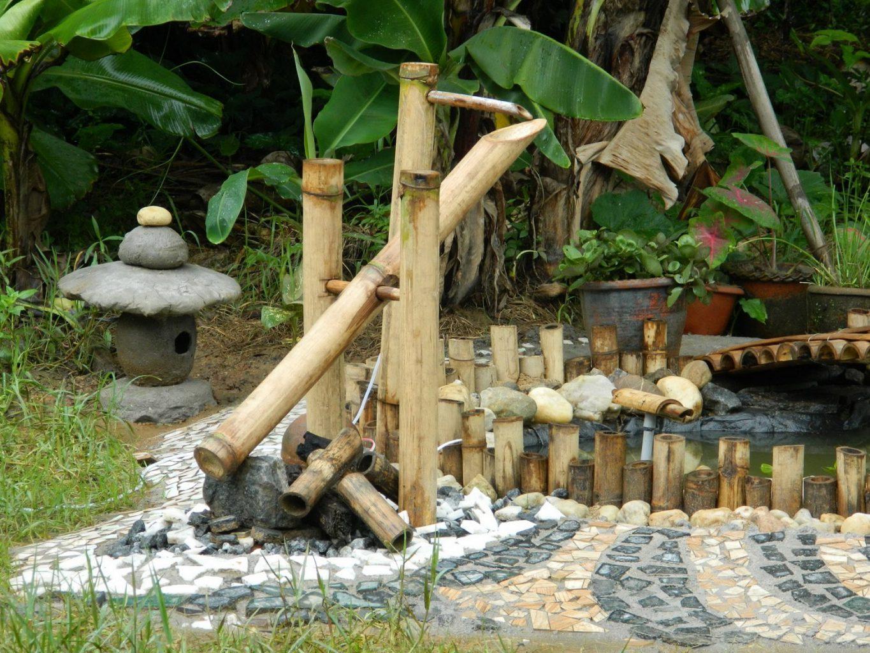 Membuat Air Mancur Tradisional Jepang Yang Disebut Shishi Odoshi