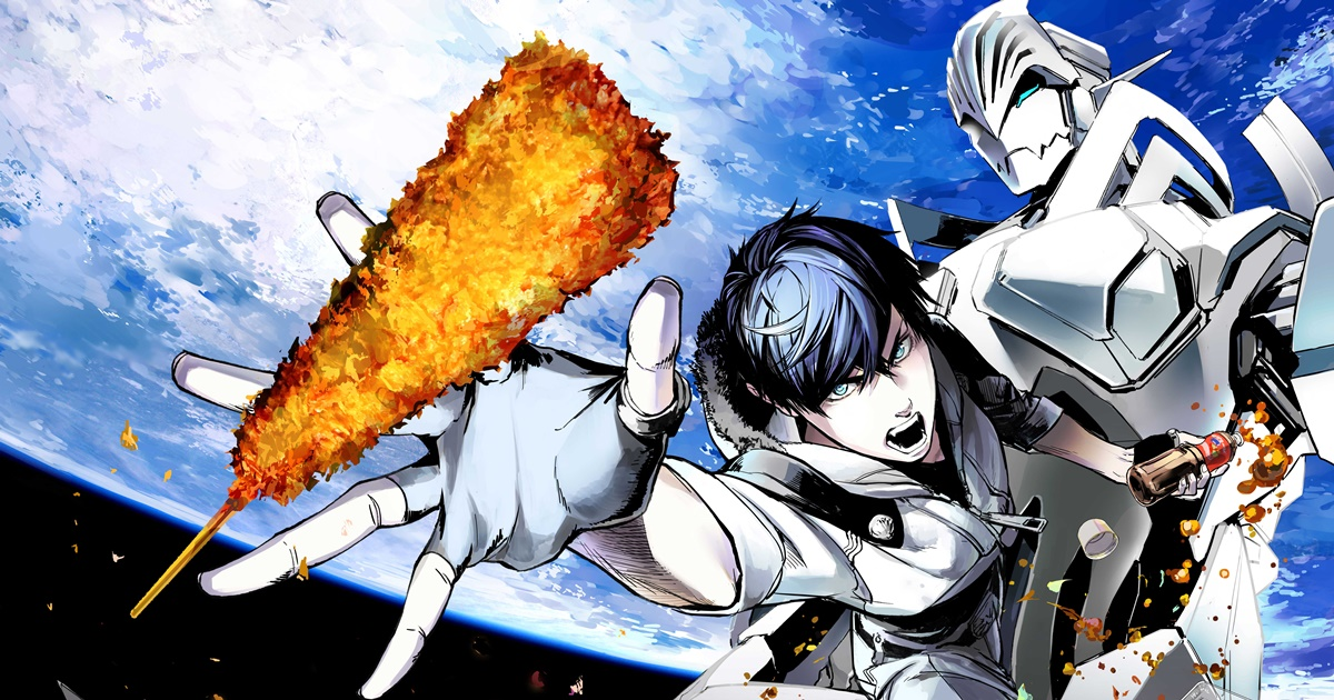 Manga Populer Space Battleship Tiramisu Mendapatkan Adaptasi Anime