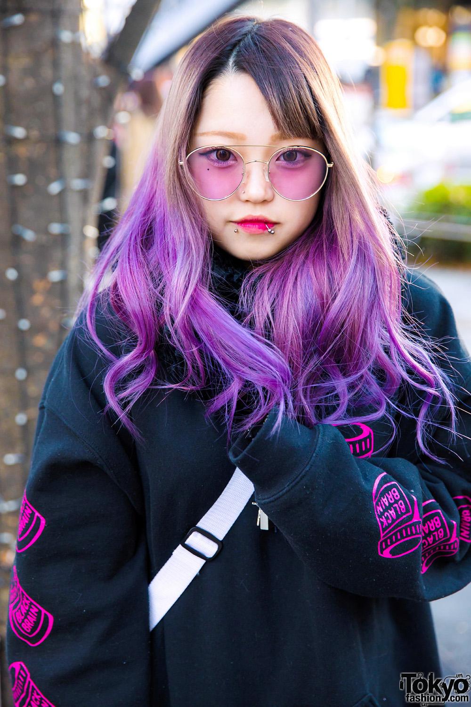 Tampilan Trendy Dari Pelajar Bernama Saki Dalam Fashion Jepang