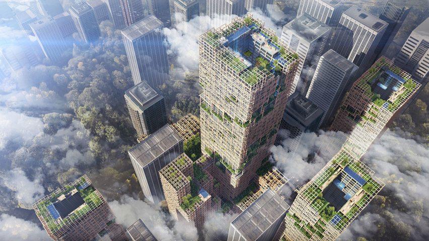 Tokyo Akan Miliki Gedung Kayu Tertinggi Didunia Pada Tahun 2041