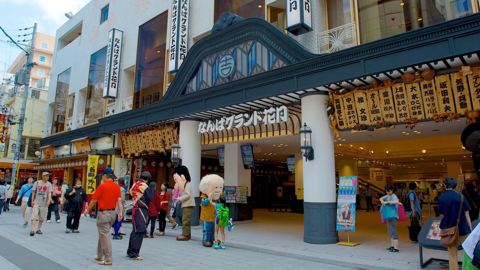 Teater Komedi Terkenal Namba Grand Kagetsu Di Osaka