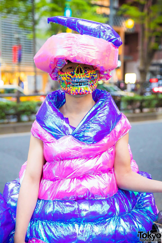 Busana Unik Handmade Oleh Kanji Dalam Harajuku Fashion Jepang