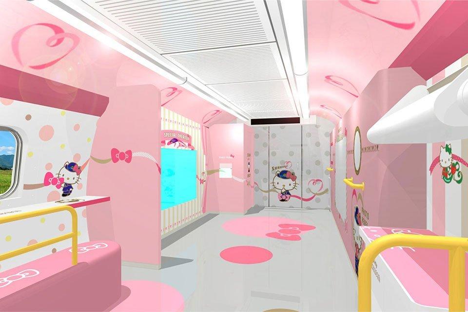 Kereta Shinkansen Hello Kitty Akan Segera Beroperasi