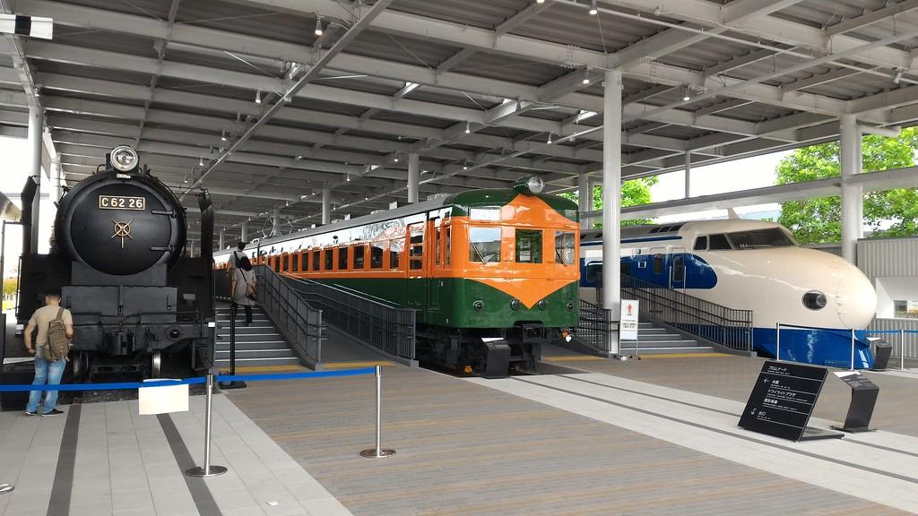 Wisata Kereta Tua Dalam Museum Kereta Api Kyoto