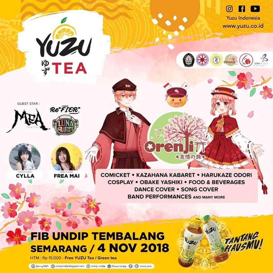 """Festival Budaya Jepang Paling Seru Untuk Masyarakat Semarang ! Orenji """"Yuujou No Tabi"""" 2018 Akan Segera Berlangsung !"""