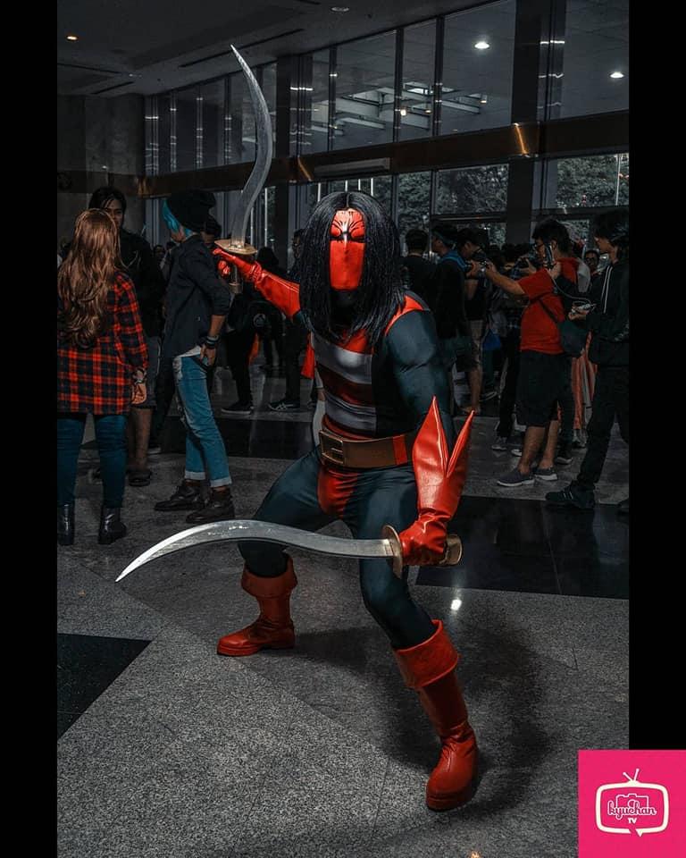 Cosplay-Cosplay Keren Dan Unik Dalam Indonesia Comic Con 2018 !