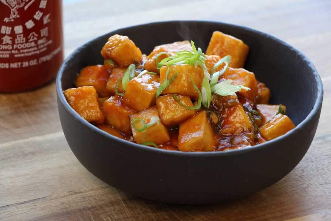 Resep Dan Cara Mudah Membuat Hidangan Agedashi Tofu Dengan Saus Hoisin
