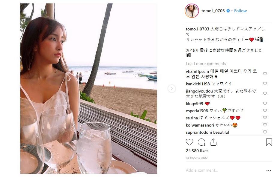 Mantan AKB48 Tomomi Itano, Tebar Pesona Liburannya Di Hawaii Lewat Akun Instagramnya !