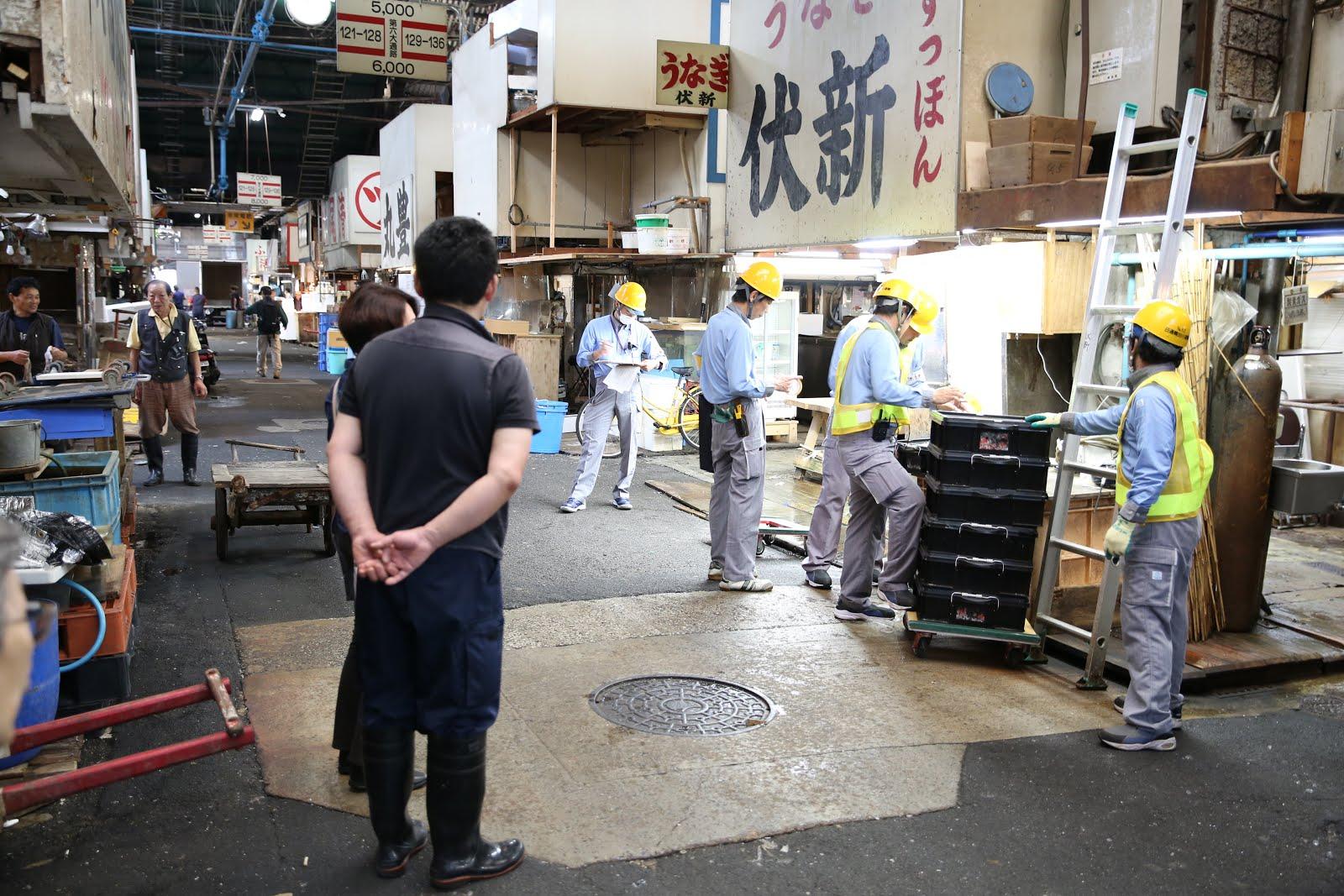 Tokyo Akan Merubah Lokasi Pasar Tsukiji Menjadi Sebuah Pusat Konferensi Dan Transportasi