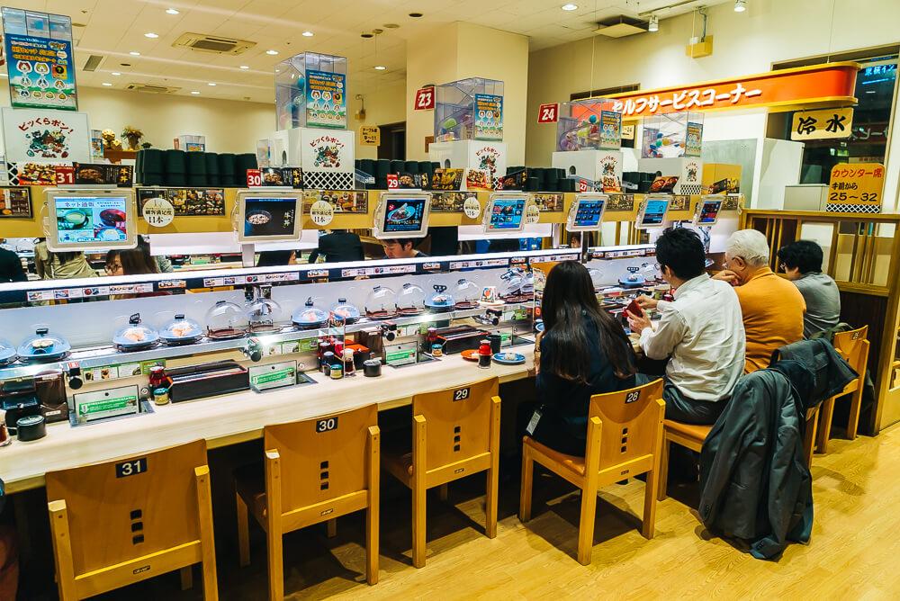 4 Restoran Sushi 100 Yen Yang Populer Di Jepang