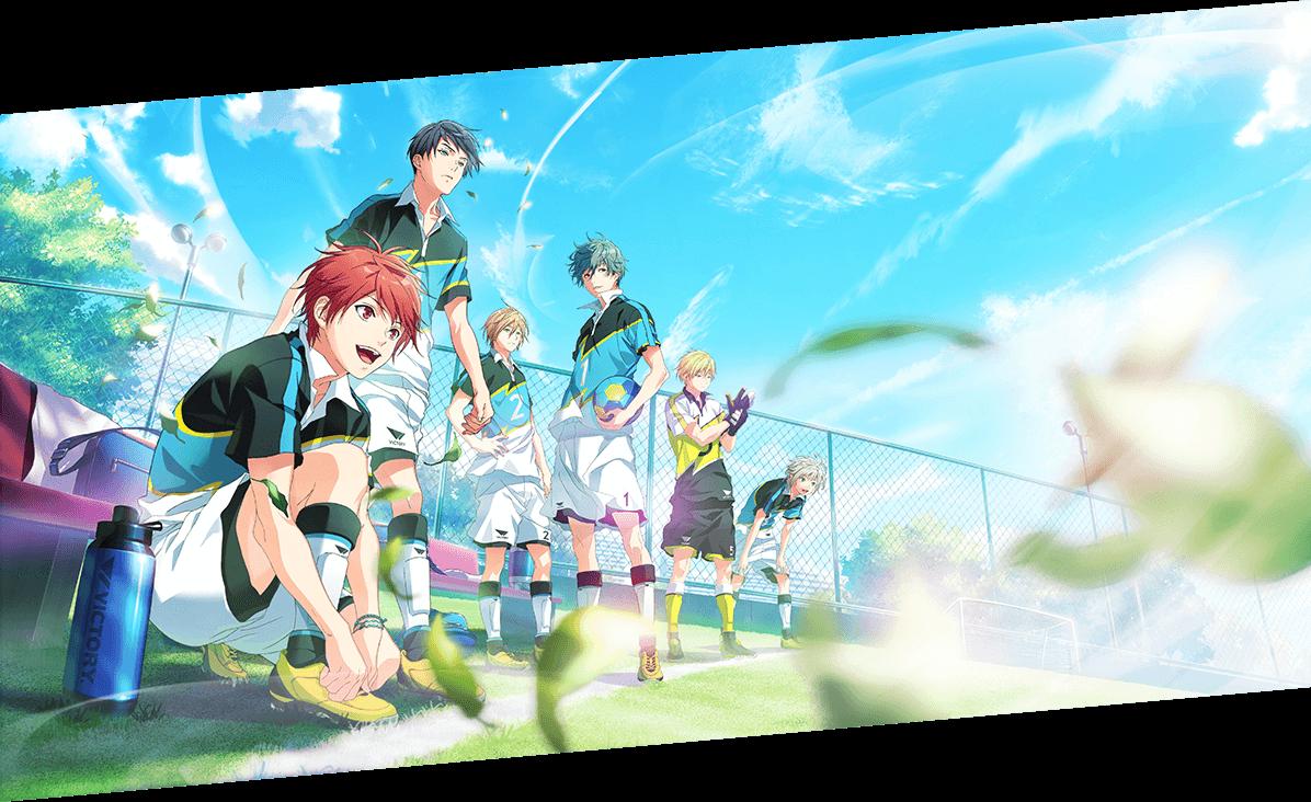 Bandai Namco Dan Studio Anime Diomedea Rilis Produk Anime Baru Bertema Futsal